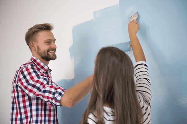 Sådan bruger du maling i indretningen