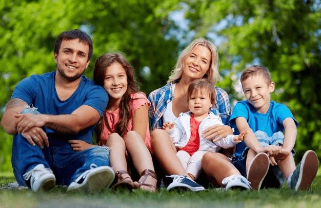 Tag et pusterum fra den travle hverdag ved at være sammen med familien